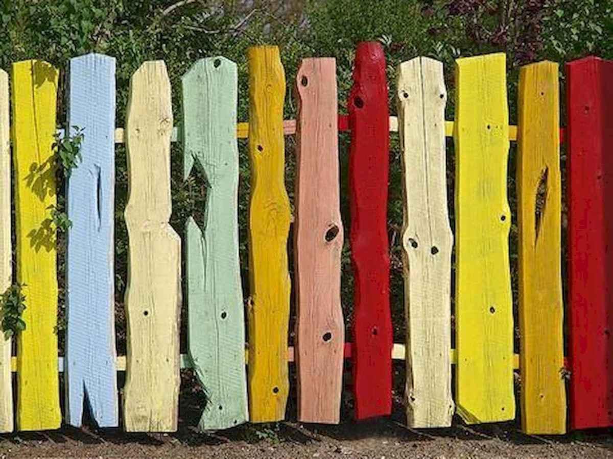 60 Gorgeous DIY Projects Pallet Fence Design Ideas (40)