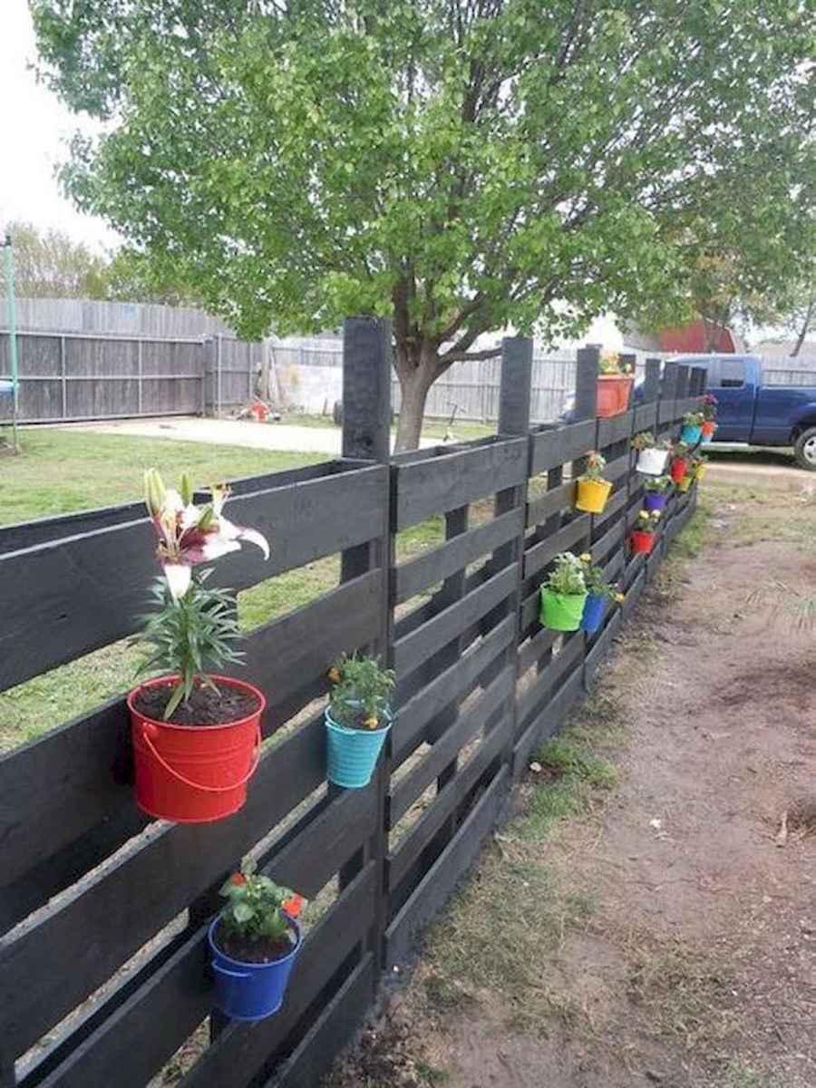 60 Gorgeous DIY Projects Pallet Fence Design Ideas (7)