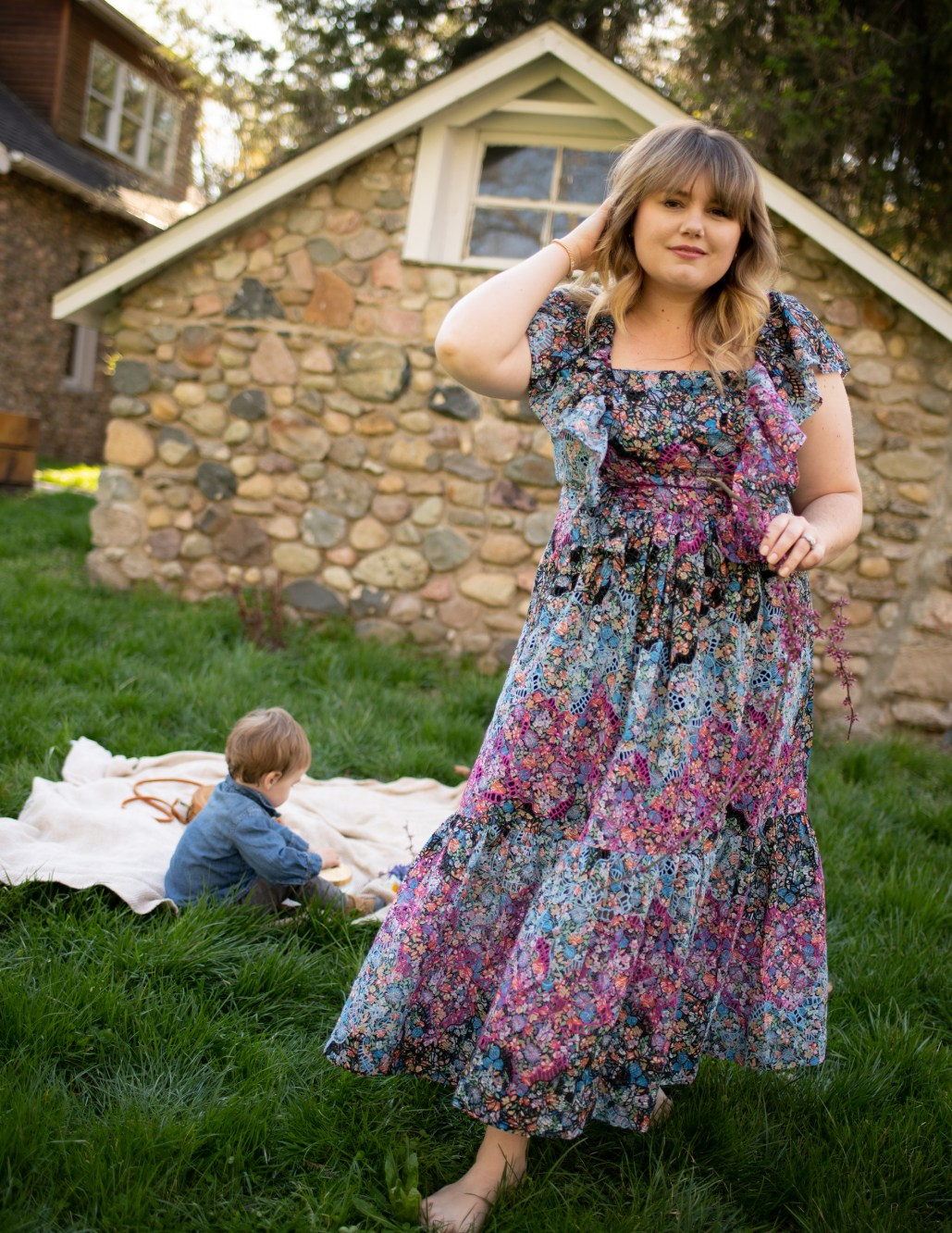 Mothers Day Gift Ideas. Sharing 15 different gift ideas for Mothers Day this year as well as this plus size dress from Anthropologie.