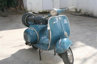 The story about my Bajaj Vespa Scooter of 1974.