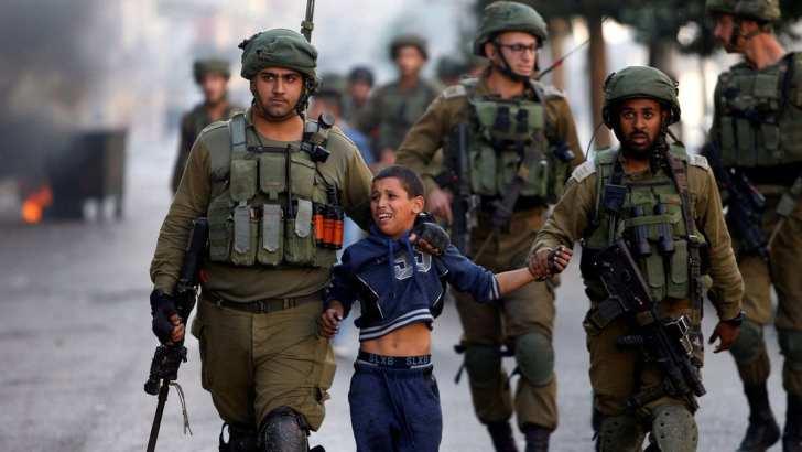 Goliath lives: Palestinian children at risk in school