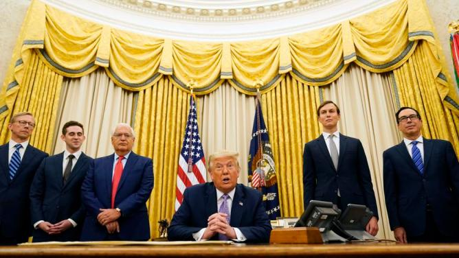 Trump: Israel And United Arab Emirates Sign 'Historic Peace Agreement'