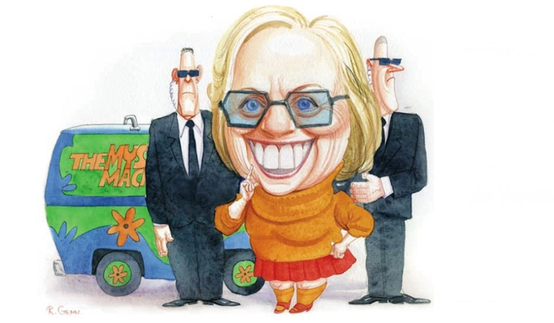 Image result for cartoons, photos hillary, james carvelle
