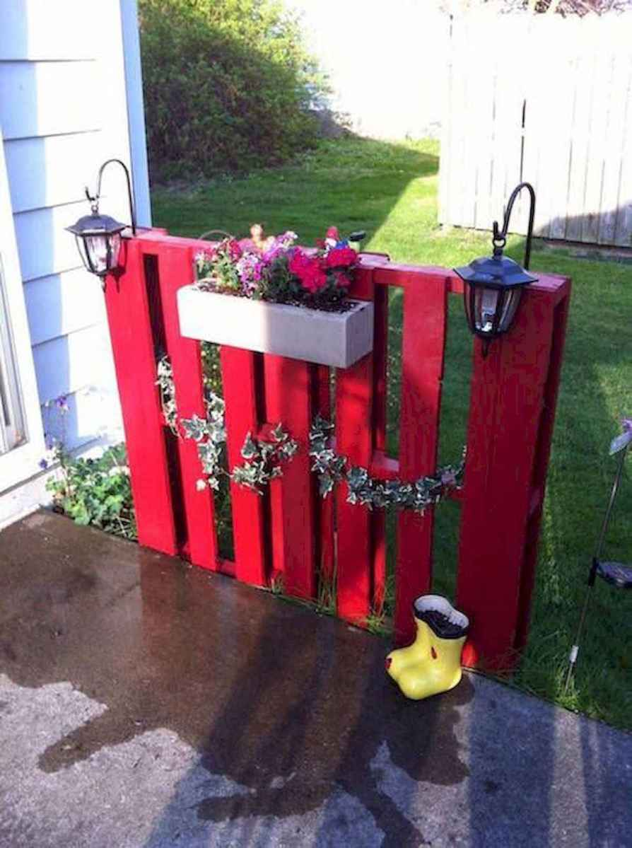 60 Gorgeous DIY Projects Pallet Fence Design Ideas (1)