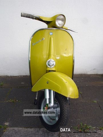 The Bajaj Vespa Scooter of 1974 that I owned had similar damage after I collided with a Telephone Utility Pole in 1982.