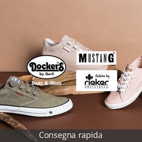 Dockers by Gerli, Mustang, Rieker