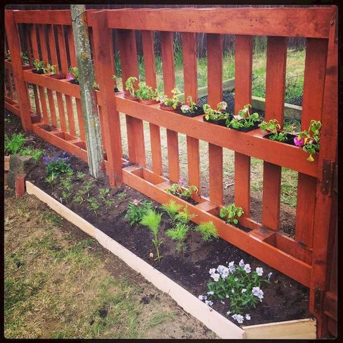60 Gorgeous DIY Projects Pallet Fence Design Ideas (10)