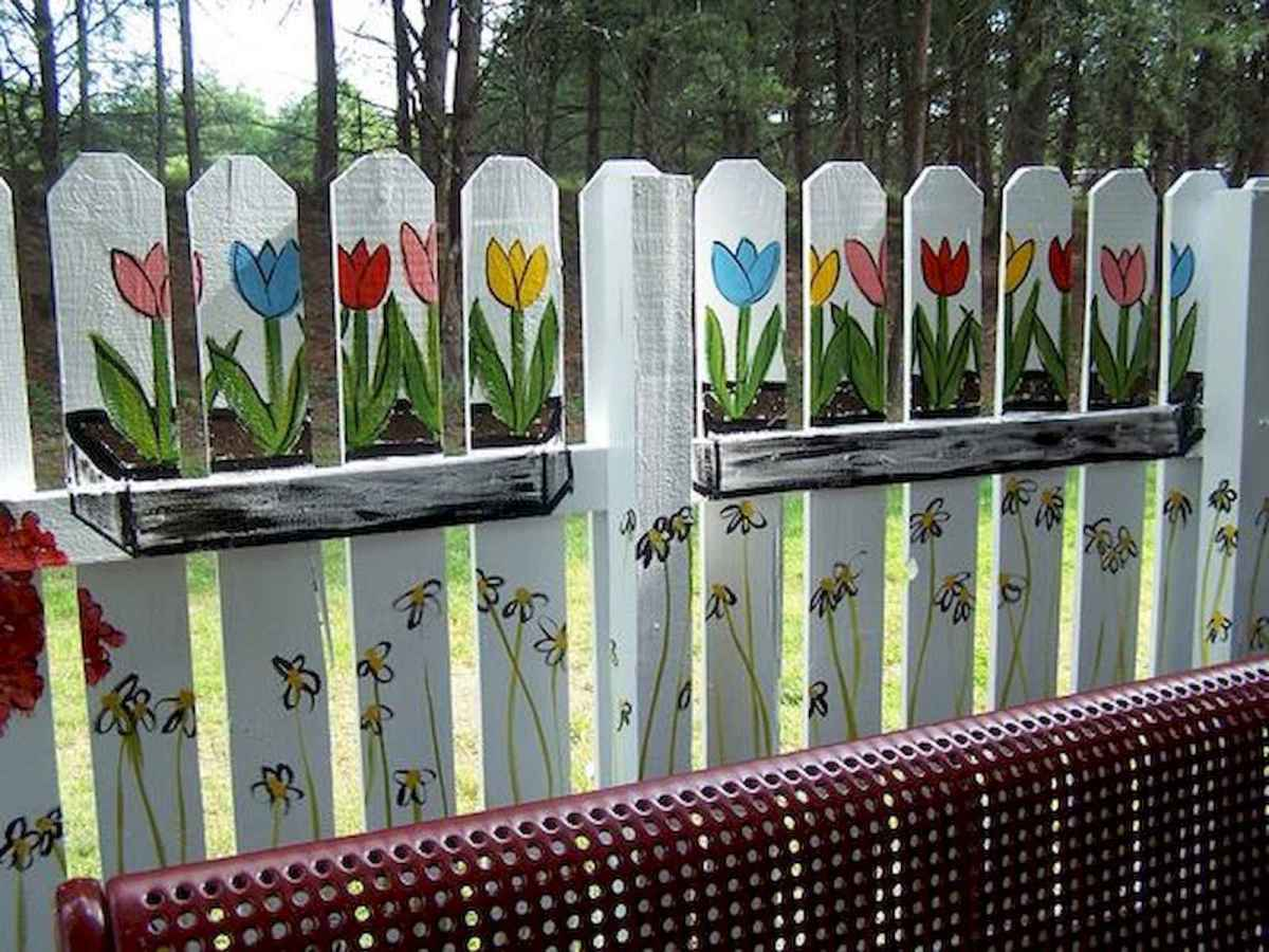 60 Gorgeous DIY Projects Pallet Fence Design Ideas (16)