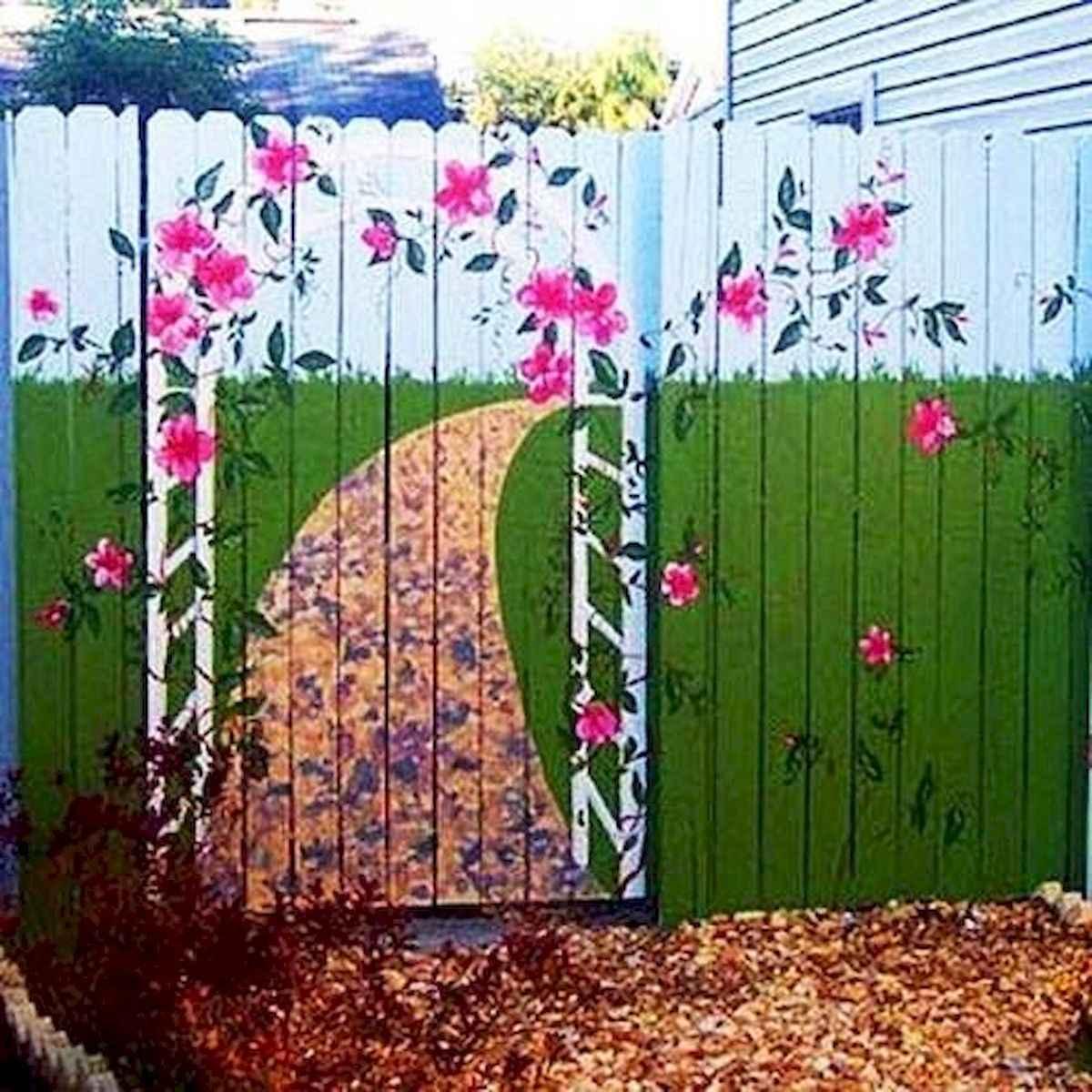 60 Gorgeous DIY Projects Pallet Fence Design Ideas (52)