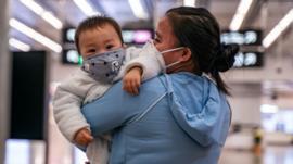 Confirman el contagio de un bebé recién nacido con el nuevo coronavirus chino