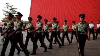 Chinese paramilitary police