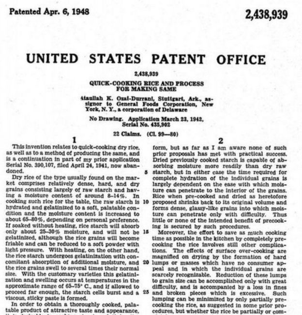 US PATENTS OFFICE