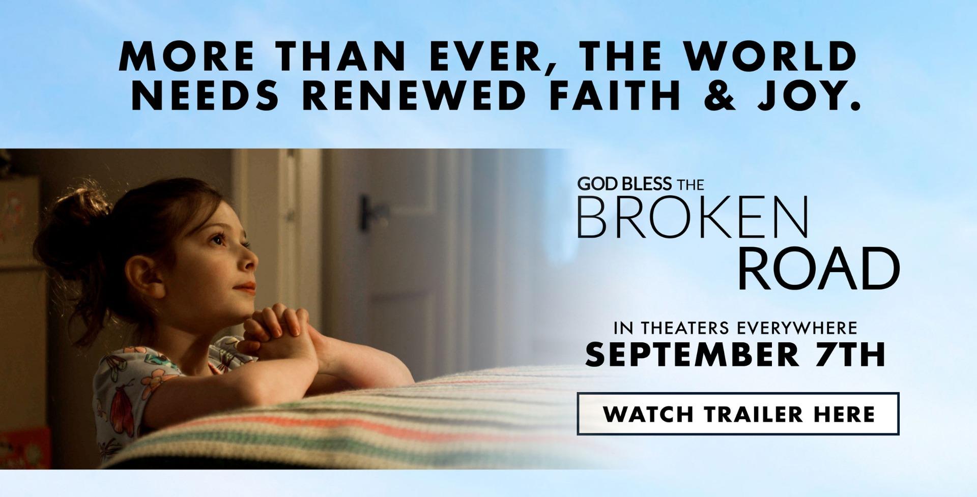 More than ever, the world needs renewed faith & joy