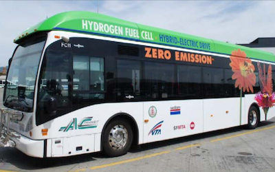 Fuel cell bus in the US has exceeded 25000 hours, more are close