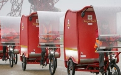 Royal Mail trials e-trikes
