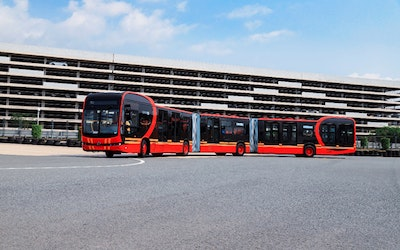 BYD launches the world's longest pure electric bus