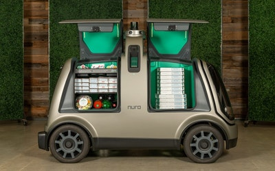 Dominos and Nuro partner on autonomous pizza delivery