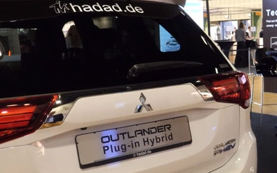 Mitsubishi Outlander plug-in hybrid electric car