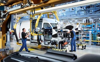 Start of Production of Mercedes-Benz eSprinter