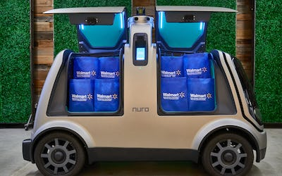 Nuro and Walmart Have Teamed Up on Autonomous Grocery Delivery