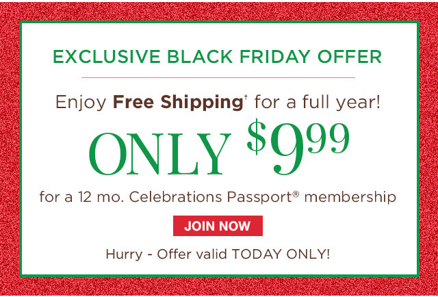 Exclusive Black Friday Offer: Enjoy Free Shipping for a full year