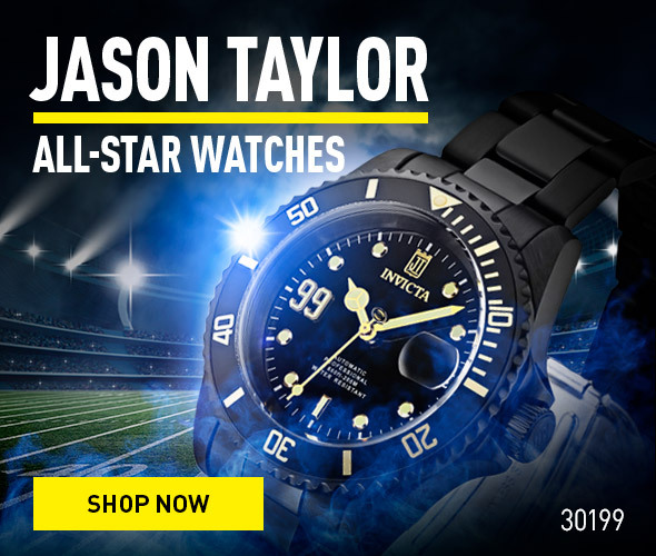 Jason Taylor. All-star watches.