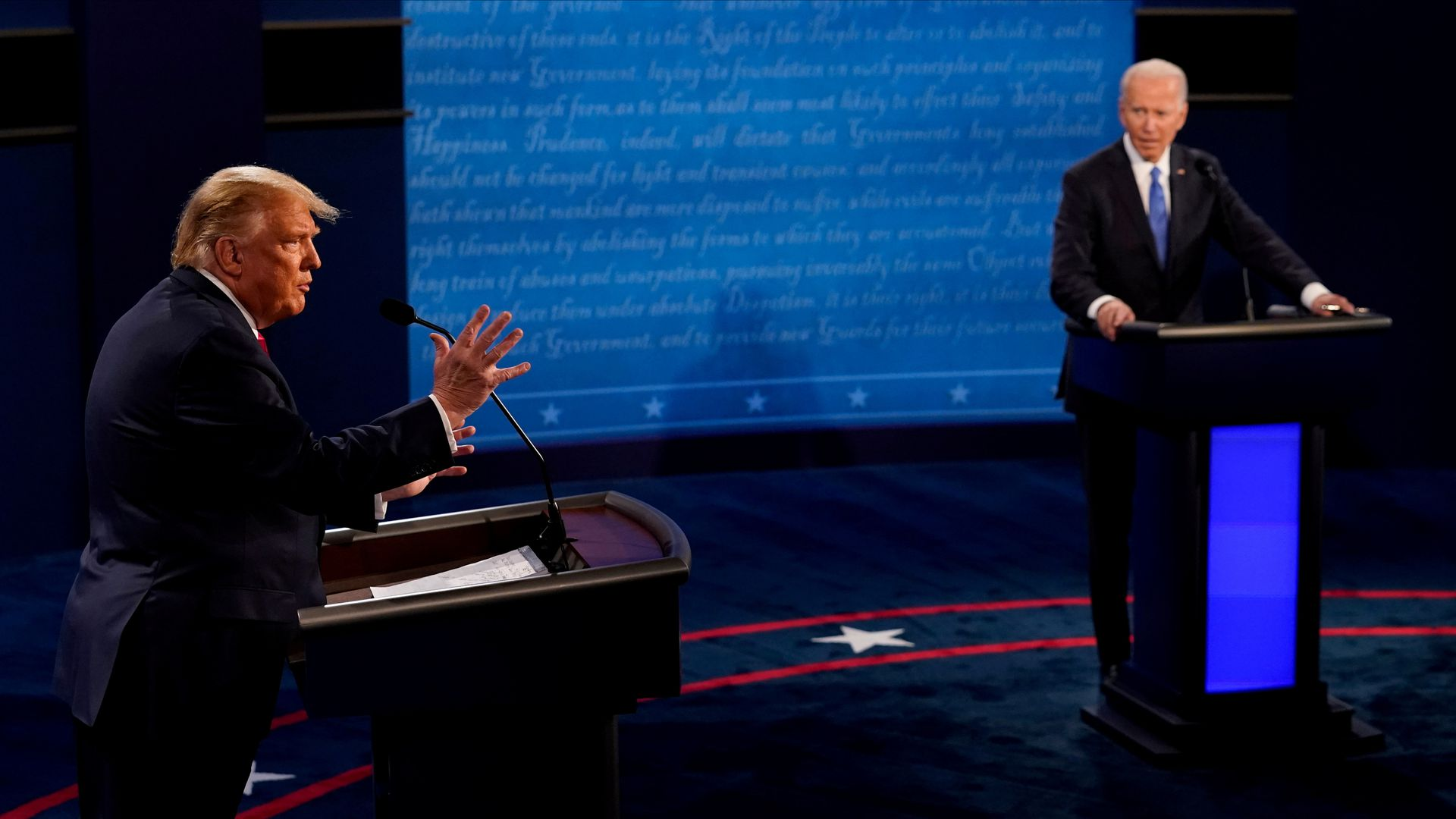 The Democratic debate will take place at the Paris Theater in Las Vegas on Wednesday.