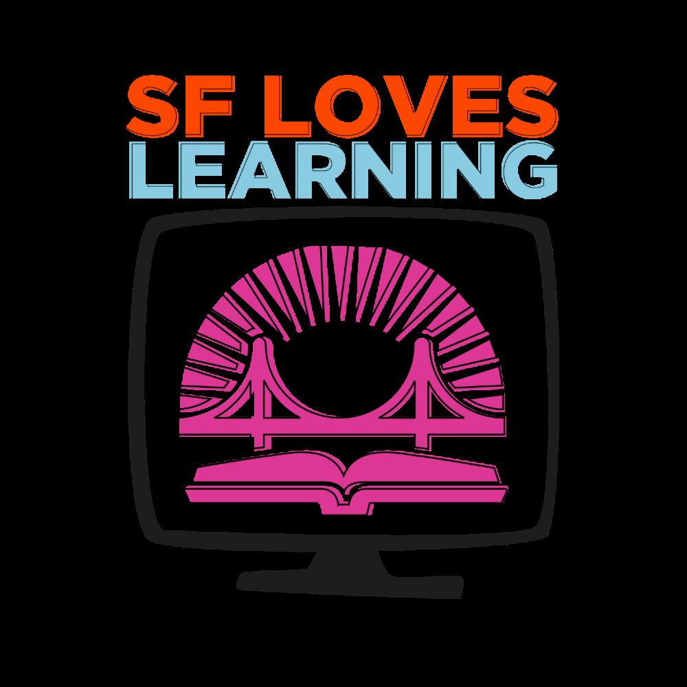 SF Loves Learning logo