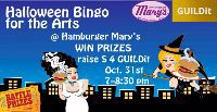 Bingo for the Arts in Costume