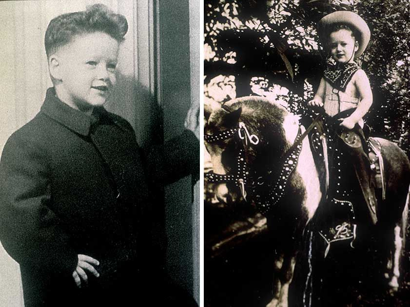 Four-Year-Old Bill Clinton (1950)