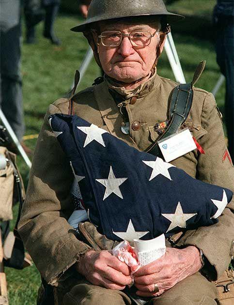 A Veteran Mourns