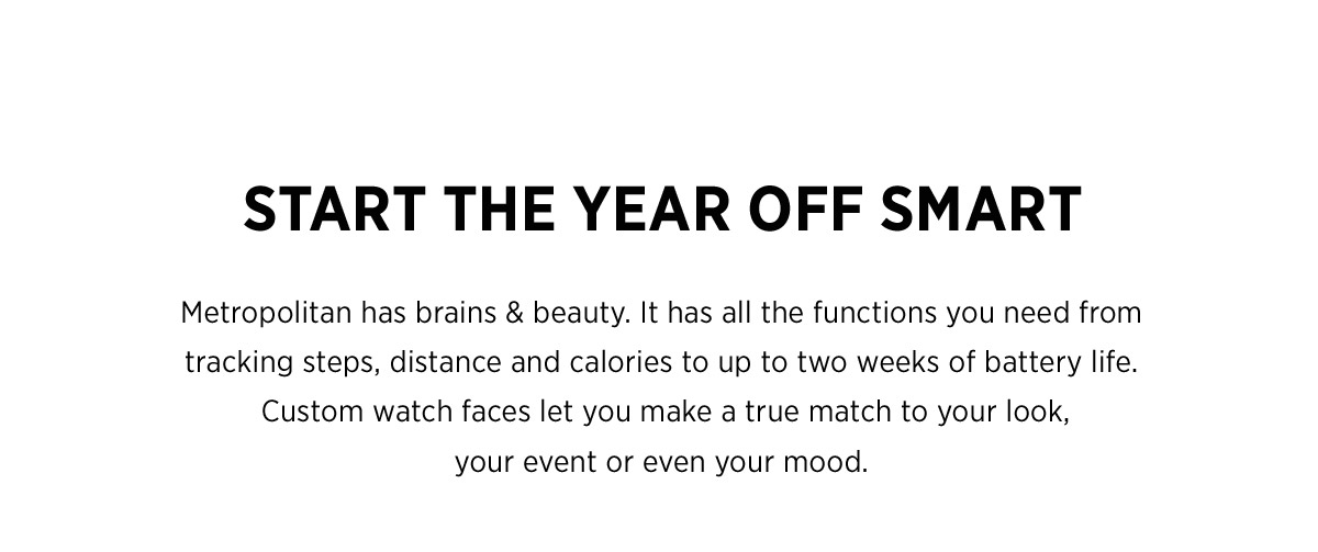 Start the year off smart