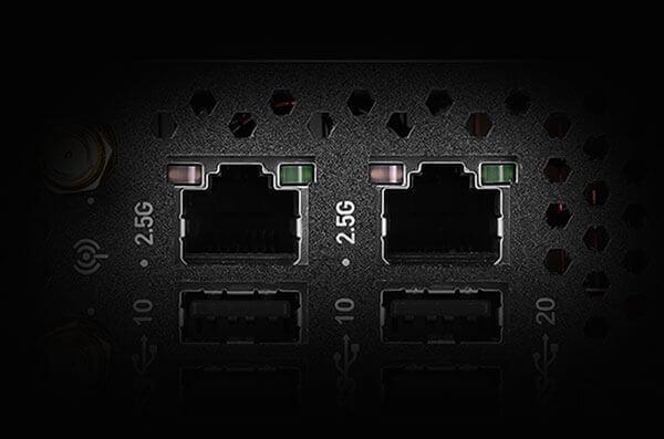 Dual Intel 2.5GbE NICs