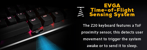 EVGA TOF Sensing System