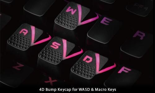 4D Bump Keycap