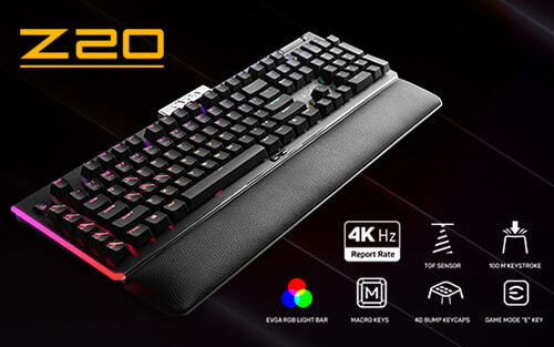 EVGA Z20 Gaming Keyboard