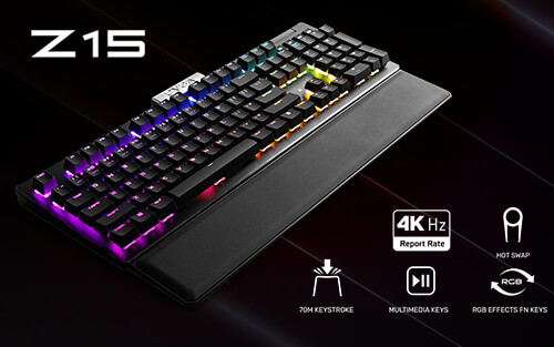 EVGA Z15 Gaming Keyboard