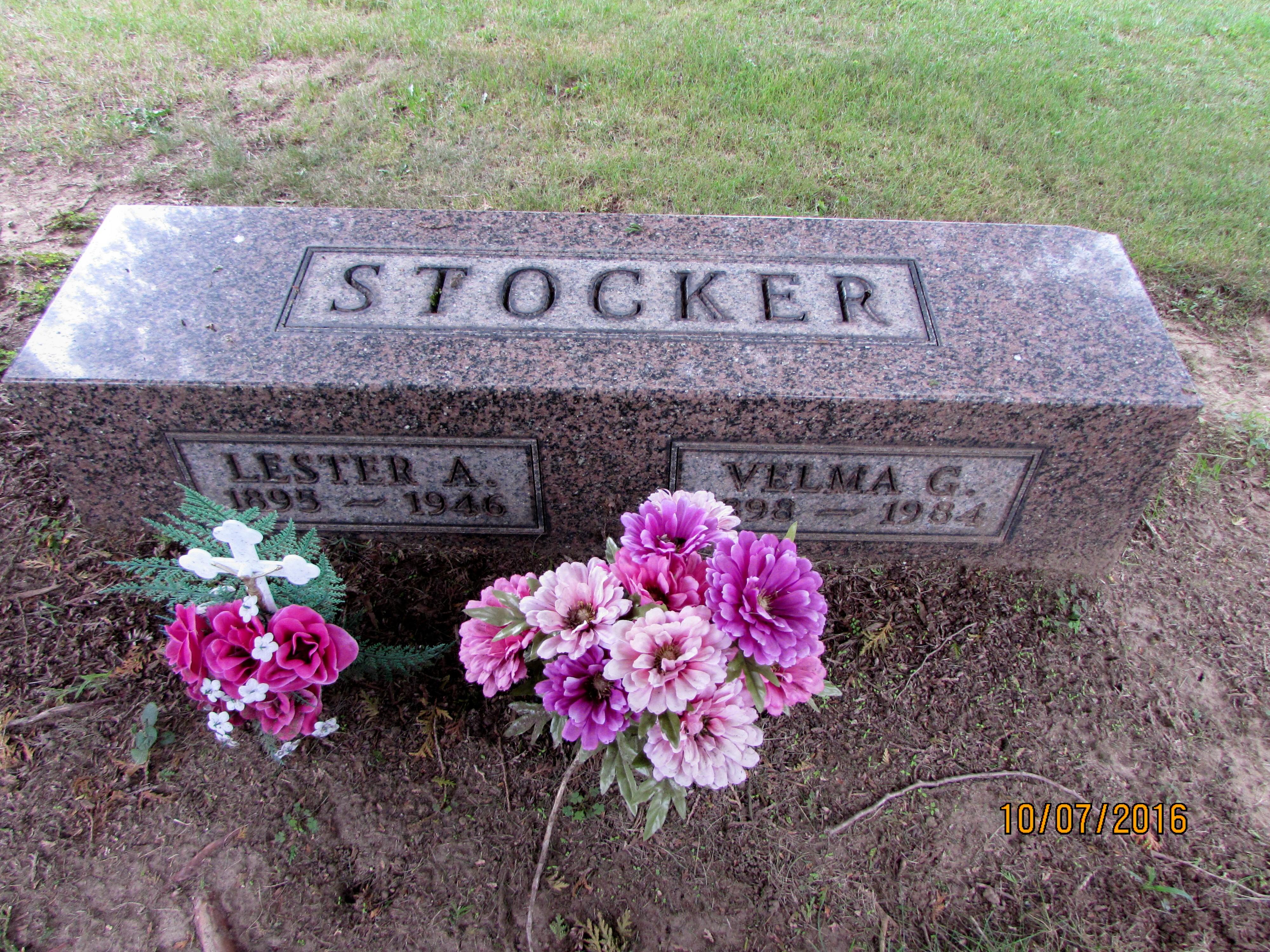 Image result for lester stocker grave