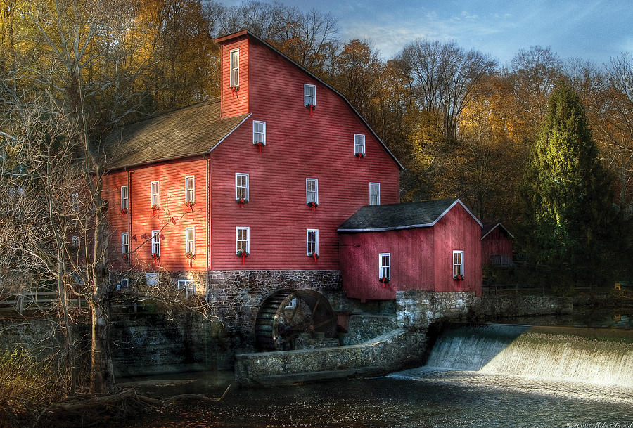 Image result for picture of the old mill in Clinton NJ