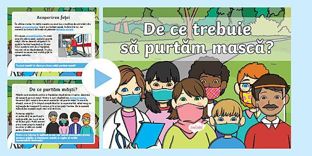 * NEW * De ce trebuie să purtăm mască? – Prezentare PowerPoint