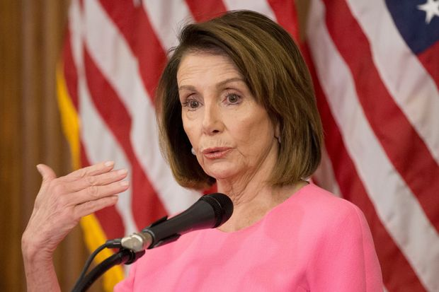 House Minority Leader Nancy Pelosi holds a                      news conference on the results of the 2018 midterm                      general election, on Capitol Hill on Wednesday.
