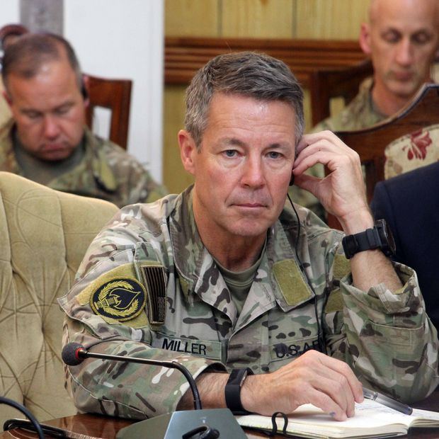 'The purpose is not just to kill,' says Gen. Scott Miller, here in Kandahar in October. 'It's to shape the political environment.'
