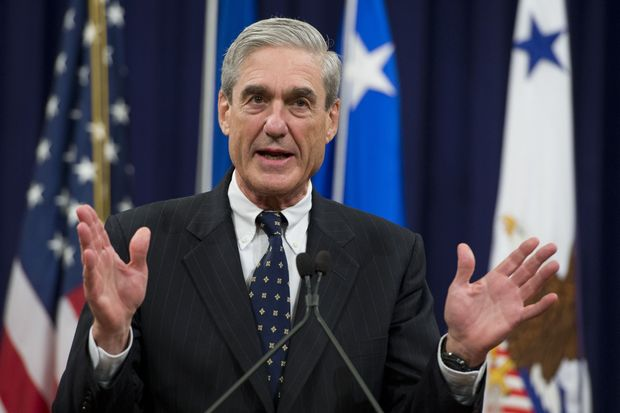 Special Counsel Robert Mueller speaks in                   Washington, D.C., Aug. 1, 2013.