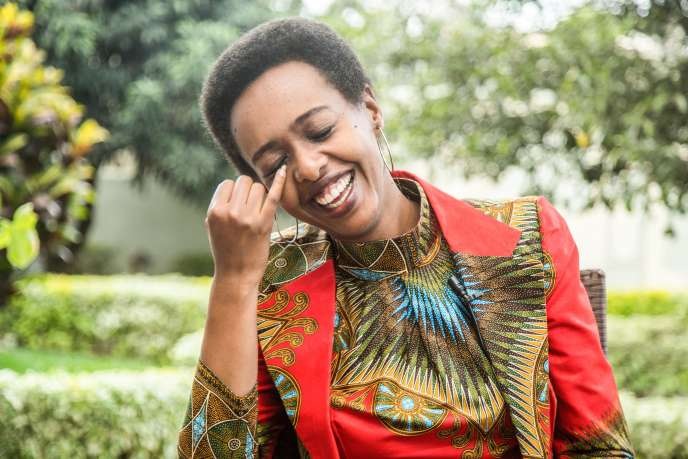 L'opposante rwandaise Diane Rwigara à Kigali, le 2novembre 2018.
