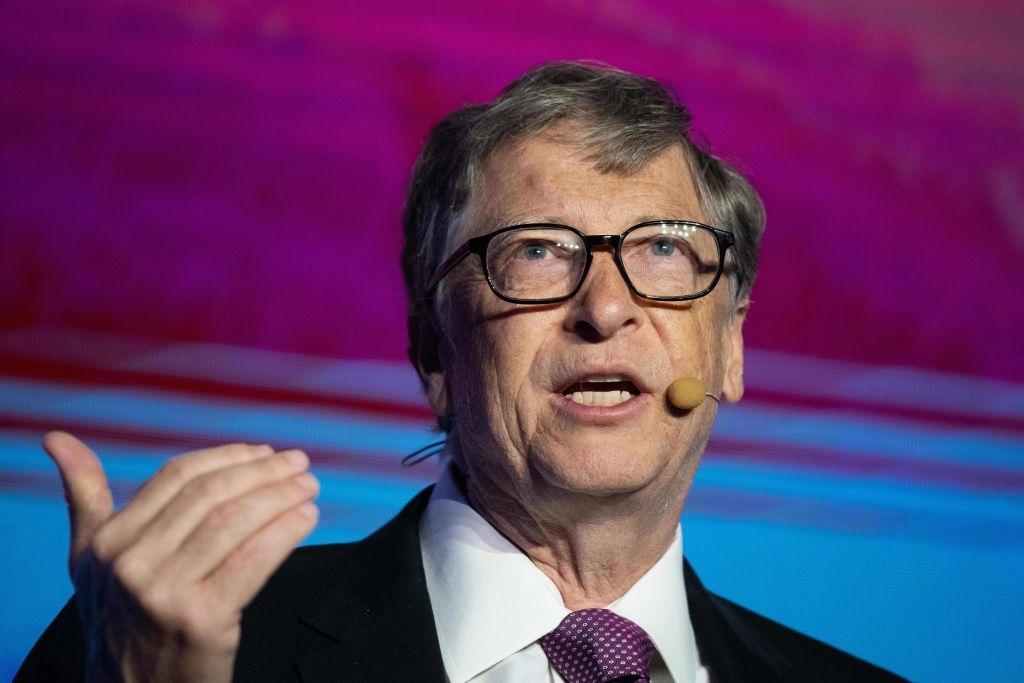 Những bài thuyết trình của tỷ phú Bill Gates về các vấn đề toàn cầu thường thu hút rất đông người theo dõi. (Ảnh: Getty)