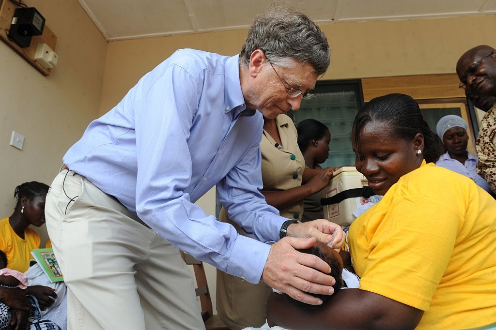 Với lý do cung cấp dịch vụ chăm sóc sức khỏe cho các nước thế giới thứ ba, Quỹ Gates đã ép buộc hàng trăm ngàn trẻ em nghèo tại Châu Phi thử nghiệm các loại vaccine khác nhau cho các tập đoàn dược phẩm này.(Ảnh: Getty)