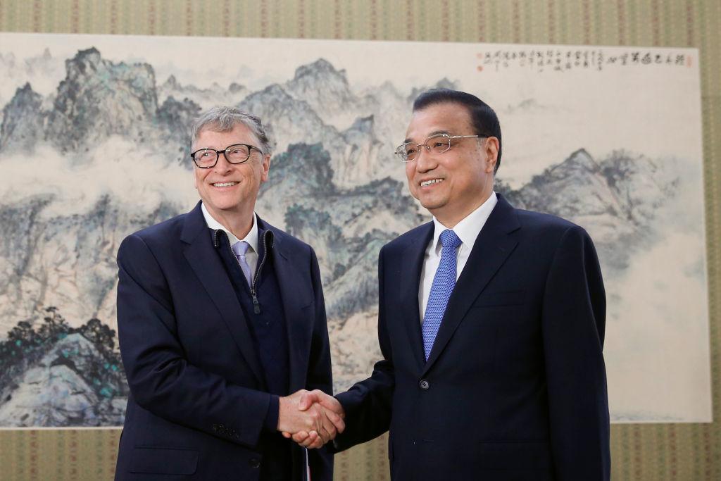 Suốt thời gian đồng hành cùng Microsoft và Quỹ Bill & Melinda Gates Foundation cũng là những năm tháng Bill Gates có mối liên hệ mật thiết với Trung Quốc. (Ảnh: Getty)