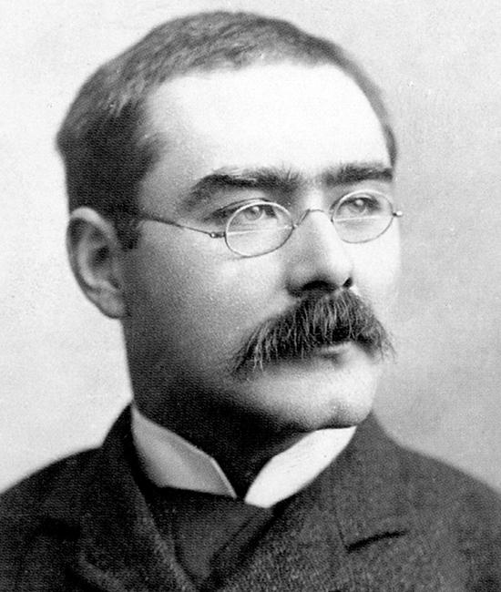 Rudyard Kipling (1865–1936), văn thi sĩ người Anh sinh tại Ấn Độ cuối thế kỷ 19, đầu thế kỷ thứ 20. (Ảnh: Wikipedia)