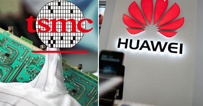 Công ty Sản xuất Chất bán dẫn Đài Loan (TSMC) thông báo rằng họ sẽ tạm dừng các đơn đặt hàng mới từ Huawei để đáp ứng quy định xuất khẩu chặt chẽ hơn của Hoa Kỳ.