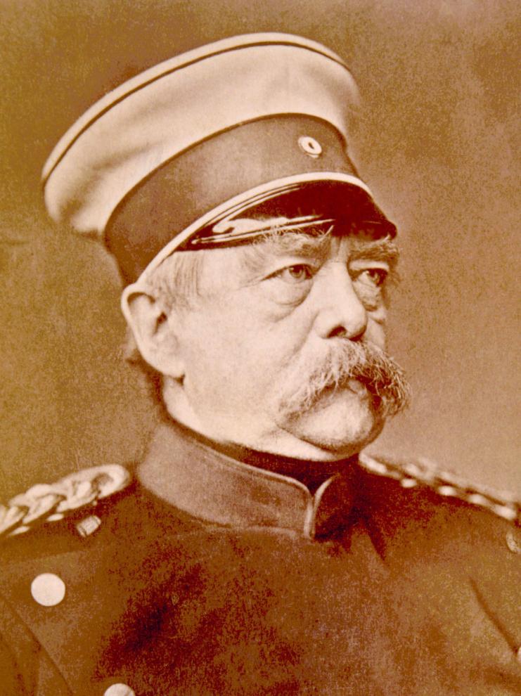 Thủ tướng Đức lúc bấy giờ Otto von Bismarck